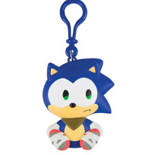 Sonic Boom Emoji Clip-on Figure - Sad Sonic