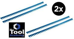 2 x Packs Of Blue Sharks Teeth Spanner Organiser for 70 Spanners Holder Rack