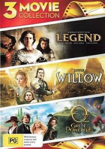 LEGEND / WILLOW / OZ THE GREAT AND POWERFUL (1985) [NEW DVD]