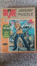 Hasbro GI Joe 150 Piece Jigsaw Puzzle - 1965 - Original Owner