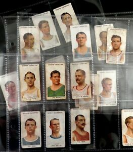 Pugilists and Wrestlers Cigarette Cards by Ogdens 1908 Pick Your Card