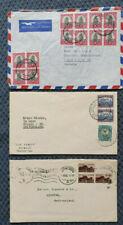 3 Briefe 1946-52 aus Südafrika in die Schweiz  (T3)