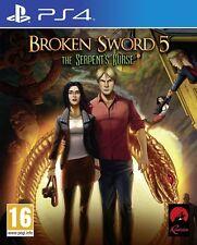 Espada rota 5-la serpiente's maldición para PAL PS4 (nuevo Y Sellado)
