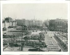 1936 Maranouchi District in Heart of Tokyo Original News Service Photo