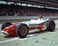 A.J. FOYT SIGNED AUTOGRAPHED 11x14 PHOTO AUTO RACING INDY 500 LEGEND BECKETT BAS