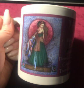 Jessica Galbreth Zodiac Fairies Taurus Fairy Mug