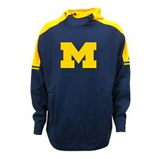 Michigan Wolverines NCAA Adidas Men's Navy Blue Game Built ClimaWarm Hoodie