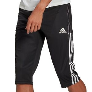 adidas Performance Tiro 21 3/4 Pant schwarz/weiß - Herren Trainingshose GM7375