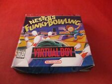 Nester's Funky Bowling Nintendo Virtual Boy Empty Box ONLY (no manual/game)
