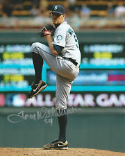 **GFA Seattle Mariners *TOM WILHELMSEN* Signed 8x10 Photo T1 COA**