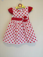 New Baby Girls Summer Dress Size:00 (6M), 0 (9-12M)