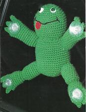 *Window Frog crochet PATTERN INSTRUCTIONS