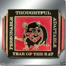 Chinese ZODIAC - YEAR OF THE RAT Spinner Poker Card Guard