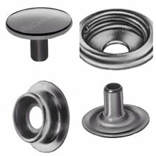 Stainless Steel Snaps - Caps,Sockets,Studs,Eyelets DOT Fasteners Kit 4000 pcs*
