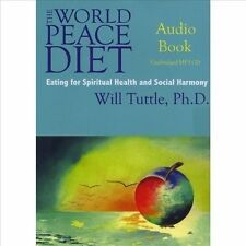 The World Peace Diet by Will Tuttle Audiobook Used