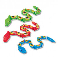 12 Plastic Sneaky Snakes - Pinata Toy Loot/Party Bag Fillers Wedding/Kids