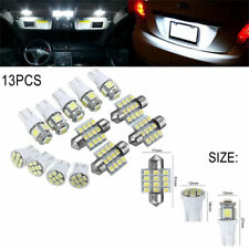 13x 12-14V LED Package Interior For Dome Map License Lights T10 & 31mm Bulb Lamp