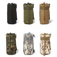 Delicate Outdoor Tactical Molle Water Bottle Bag Hiking Belt Pouch Holder K U9X8