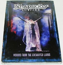 RHAPSODY OF FIRE : Visions from the Enchanted Lands--(Dvd 2 Disc New & Sealed)