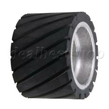 Serrated Surface Core Belt Grinder Sander Tool Making Grinder Rubber Wheel