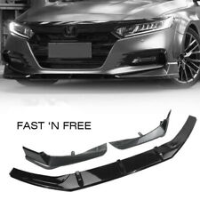Bumper Side Piece & Molding Spoiler Cover Trim For Honda Accord 2018 2019 AMA