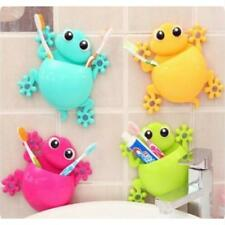 NEW Frog Style Sucker Toothbrush Toothpaste Wall Mount Stand Holder Organizer LC