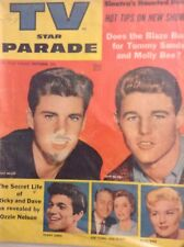 Tv And Parade Magazine David & Ricky Nelson October 1957 102517nonrh