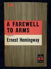 Pre-owned ~ A Farewell To Arms by Ernest Hemingway 1957 The Scribner Library PB