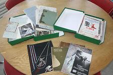 BALLET The amazing archive of AUDREY DE VOS in two slip cases letters galore etc