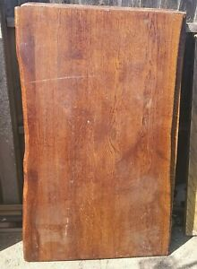 Waney Edge Solid Oak Table Top 1200x750x20mm