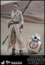 "Hot Toys Star Wars: The Force Awakens Rey & BB-8 Figura Set 1/6 Scala 12 """