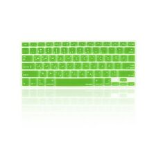 """Arabic / English GREEN Silicone Keyboard Cover  for Macbook Pro 13"""" 15"""" 17"""""""