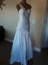 Wedding Bridal Dress Size 6 Corset Layered Beaded Sequins New