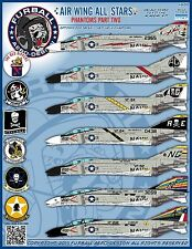 1/48 Furball Air Wing All Stars: Phantoms Part Two decals for the Academy Kit