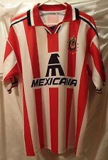 Club Deportivo Guadalajara Fc Soccer Jersey Mens Size Large