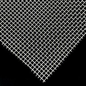 Drahtgewebe /-gitter Edelstahl Roh 1.4301 - Maschenweite 3,15mm - t=0,8mm