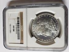 1885-O Morgan Silver Dollar - NGC MS-64 CAC
