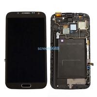 Écran LCD Vitre Tactile Sur Châssis Pour Samsung Galaxy Note 2 N7100 N7105+Outil