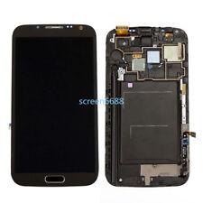 Lcd Display Touch Screen Schermo+Telaio Per Samsung Galaxy Note 2 N7100 N7105