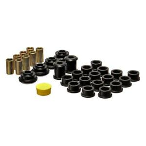 Energy Suspension Control Arm Bushing Kit 18.3102G; Black for Saturn S-Series