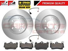 FOR PORSCHE CAYENNE VW TOUAREG AUDI Q7 FRONT 330 BRAKE DISCS BRAKE PADS SENSORS