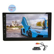 7'' Touch Screen Car Radio Stereo GPS Android 6.0 Auto WIFI/3G/4G 1080p+Rear Cam