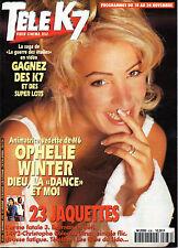 Mag 1995_OPHELIE WINTER_KEANU REEVES_JACQUES DUTRONC_SYLVIE VARTAN (L'ange noir)