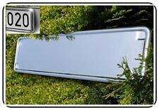 Kennzeichenhalter CHROM Kennzeichenhalterung 2 Stück Mercedes Benz