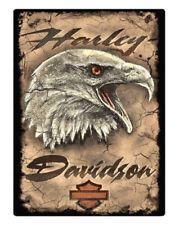Harley-Davidson® Bar & Shield Eagle Embossed Tin Sign (12.5x17) 2011391