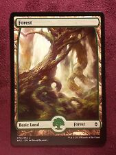 Battle for Zendikar Full Art Land  Forest #270  VO  -  MTG Magic (Mint/NM)