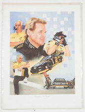 1994 Rusty Wallace Second.To None! Jeanne Barnes Print Nascar New Sealed