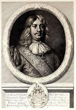 AMMIRAGLIO CORNELIS TROMP - Incisione Originale 1800 Rembrandt Admiral Naval