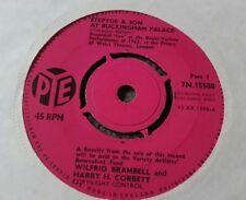 "STEPTOE & SON - AT BUCKINGHAM PALACE -  7"" Vinyl 45 RPM PYE 1963"