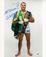 MAURICIO SHOGUN RUA SIGNED AUTO'D 11X14 PHOTO PSA/DNA COA AC29462 UFC PRIDE FC
